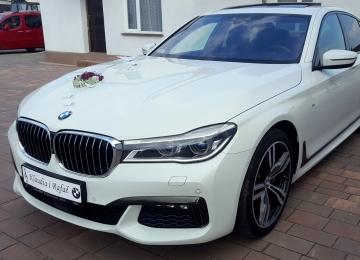 samochód do ślubu Turek - BMW 740