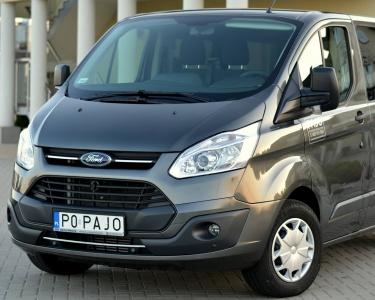 Wynajm aut Turek Poznań - Ford Transit Custom 2.0