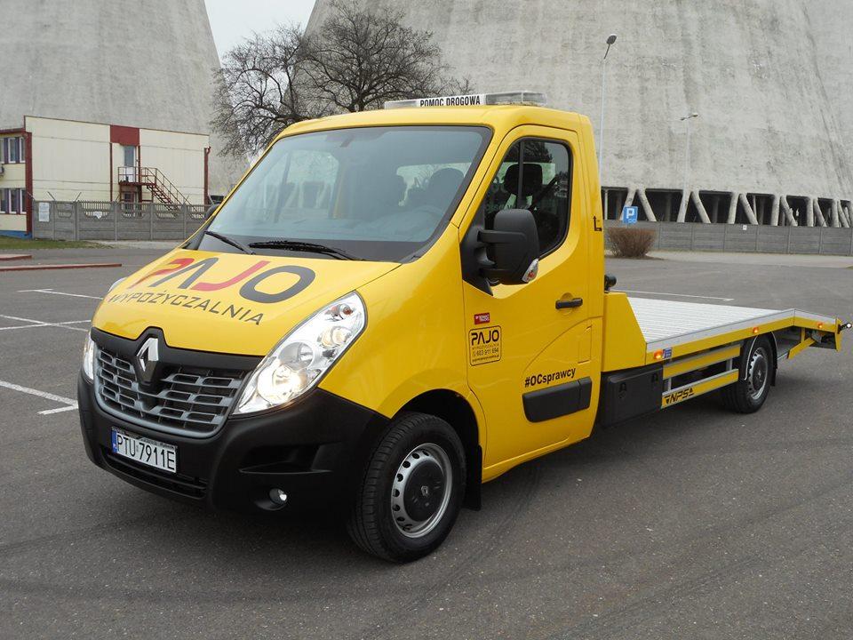 Wynajm aut Turek Poznań - Renault Master 2.3 AUTOLAWETA